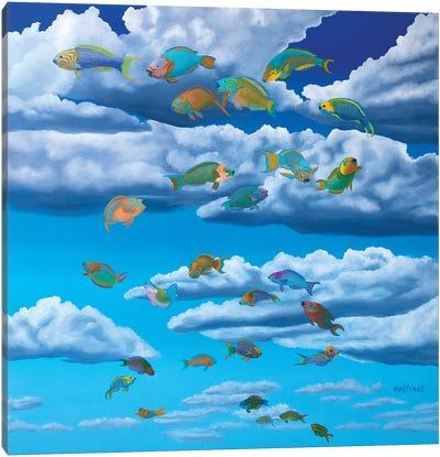 Lift Off Canvas Art Print