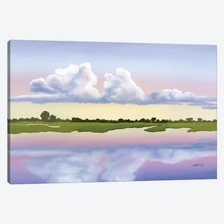 Mirror Image Canvas Print #PHS30} by Paul Hastings Canvas Artwork