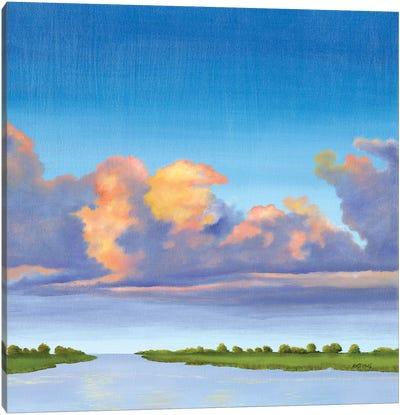 Sea Path Canvas Art Print