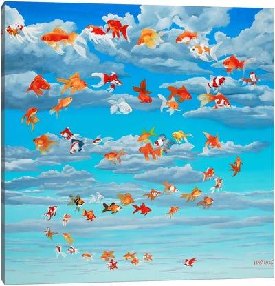 Sky Pilots Canvas Art Print
