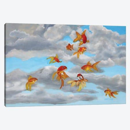 Taking Flight Canvas Print #PHS47} by Paul Hastings Canvas Art