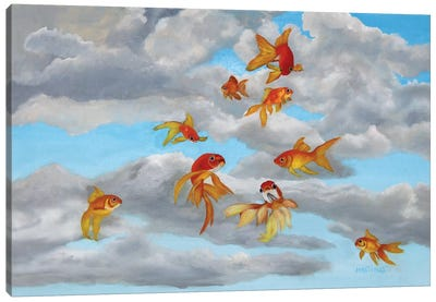 Taking Flight Canvas Art Print