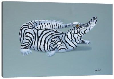 Zalligator Canvas Art Print