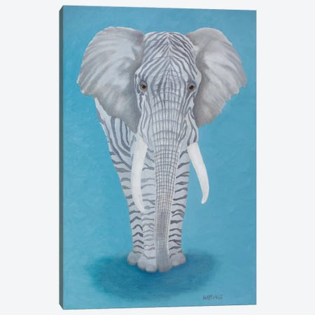 Zelephant Canvas Print #PHS57} by Paul Hastings Art Print