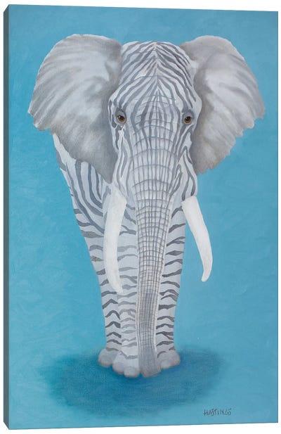 Zelephant Canvas Art Print