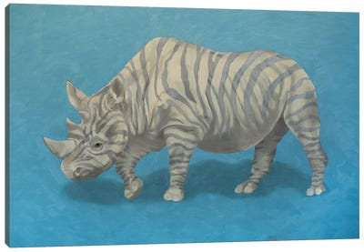 Zhinoceros Canvas Art Print