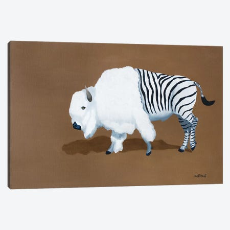 Zuffalo Canvas Print #PHS66} by Paul Hastings Canvas Artwork