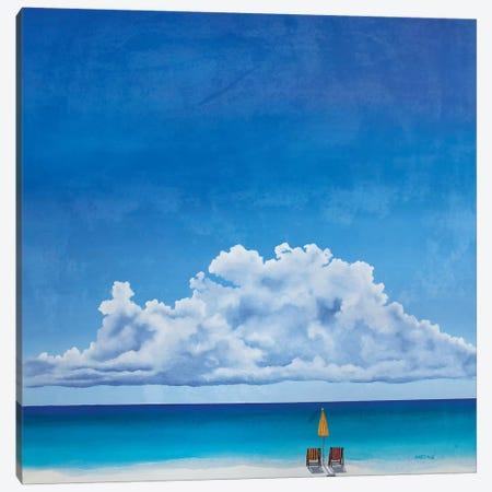 A Place In The Sun V Canvas Print #PHS7} by Paul Hastings Art Print