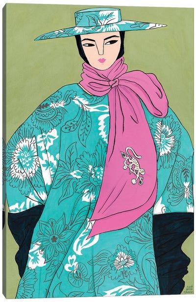 Erdem Spring 2020 I Canvas Art Print