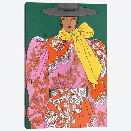 Erdem Spring 2020 II Canvas Print #PHT11} by Ping Hatta Canvas Print