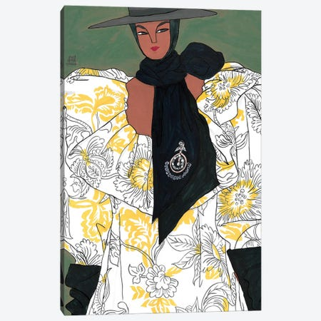 Erdem Spring 2020 IV Canvas Print #PHT13} by Ping Hatta Canvas Art Print