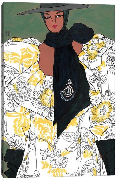Erdem Spring 2020 IV Canvas Art Print