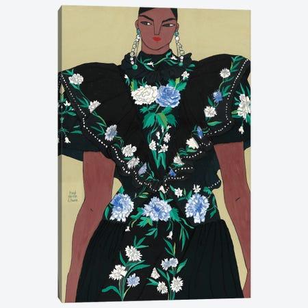 Erdem Spring 2020 V Canvas Print #PHT14} by Ping Hatta Canvas Artwork