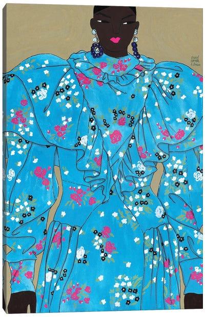 Erdem Spring 2020 VI Canvas Art Print