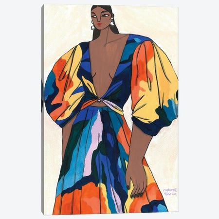Mara Hoffman Spring 2020 II Canvas Print #PHT21} by Ping Hatta Canvas Art