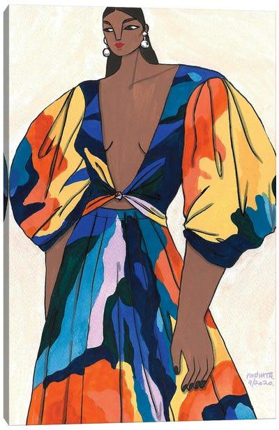 Mara Hoffman Spring 2020 II Canvas Art Print