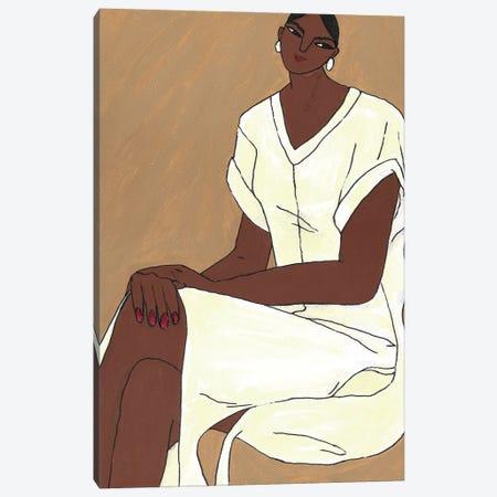 Ahimsa Canvas Print #PHT31} by Ping Hatta Canvas Art Print