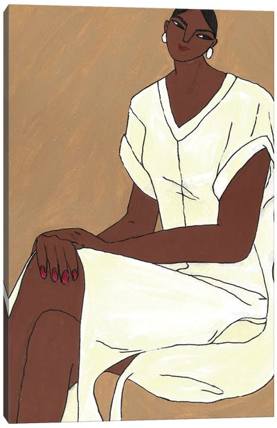 Ahimsa Canvas Art Print