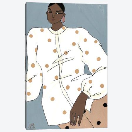 Artist Shirt Canvas Print #PHT32} by Ping Hatta Art Print
