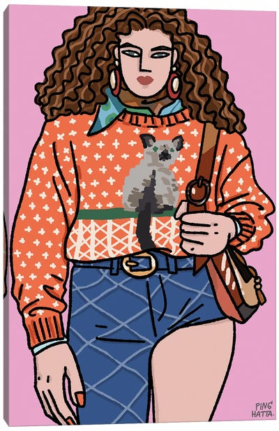Marc Jacobs Spring 2021 II Canvas Art Print