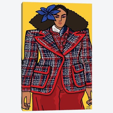 Marc Jacobs Spring 2021 I Canvas Print #PHT47} by Ping Hatta Canvas Print