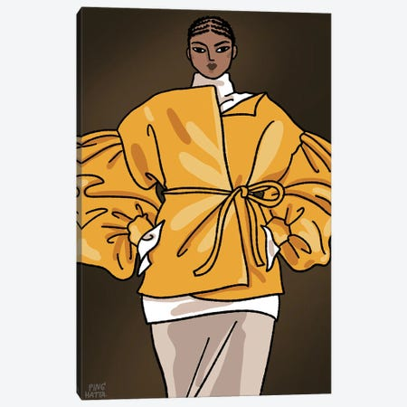 Valentino Spring 2020 II Canvas Print #PHT49} by Ping Hatta Canvas Wall Art
