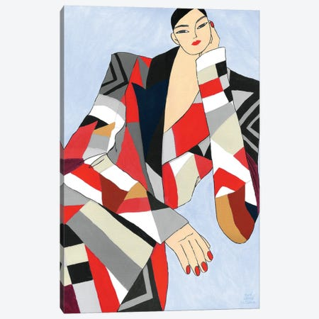 Alexander Mcqueen Fall 2020 Canvas Print #PHT73} by Ping Hatta Canvas Art Print
