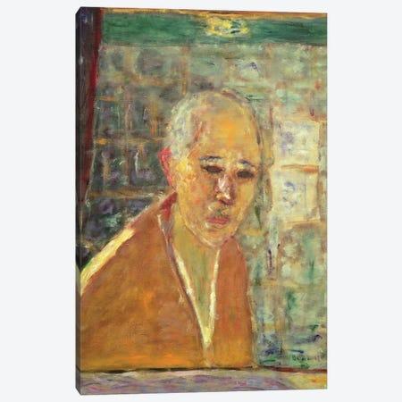 Self Portrait, 1945 Canvas Print #PIB108} by Pierre Bonnard Art Print