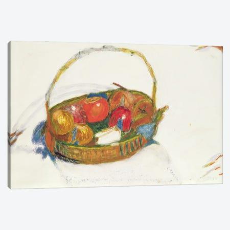 Basket Of Fruit, 1930 Canvas Print #PIB10} by Pierre Bonnard Canvas Art