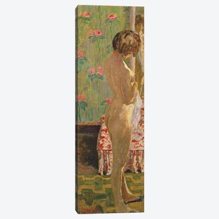 Standing Female Nude Canvas Print #PIB116} by Pierre Bonnard Art Print