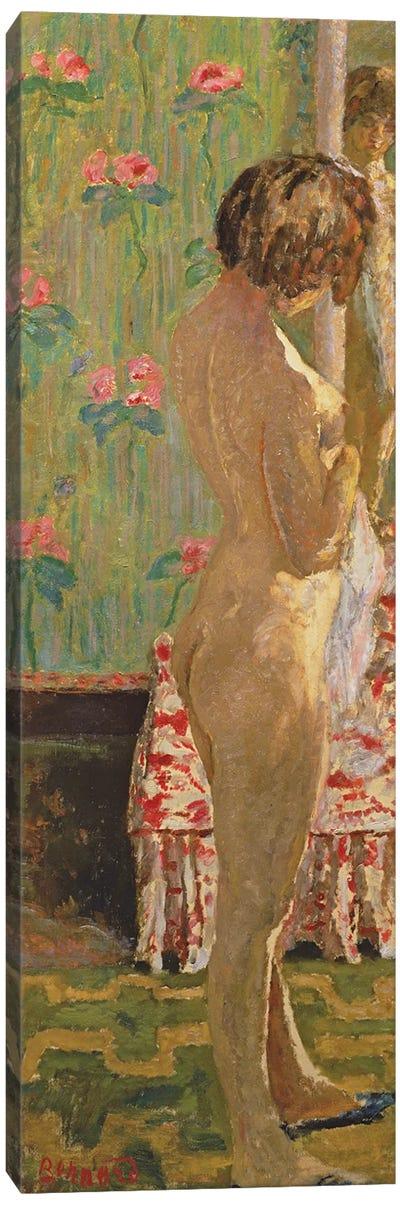 Standing Female Nude Canvas Art Print