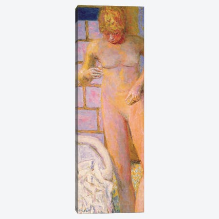 Standing Nude, 1928 Canvas Print #PIB117} by Pierre Bonnard Art Print