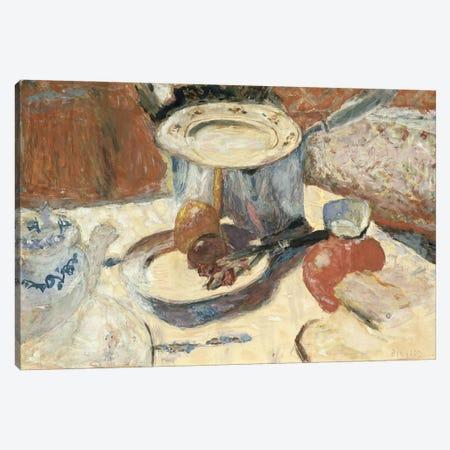 Still Life With A Saucepan, 1930 Canvas Print #PIB120} by Pierre Bonnard Art Print