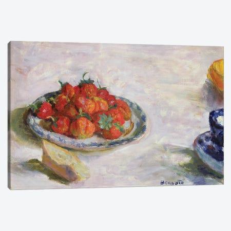 Strawberries, 1922 Canvas Print #PIB123} by Pierre Bonnard Canvas Art Print