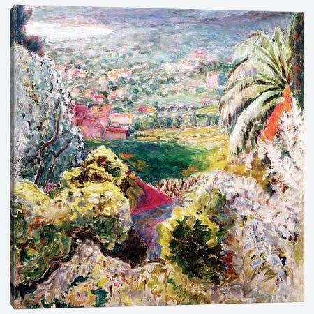 Bay Of Cannes, C.1937 Canvas Print #PIB12} by Pierre Bonnard Canvas Artwork
