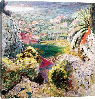 Bay Of Cannes, C.1937 Canvas Art Print