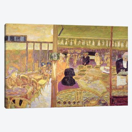 The Cafe Du Petit Poucet, 1928 Canvas Print #PIB138} by Pierre Bonnard Canvas Wall Art