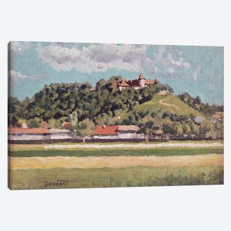 The Chateau De Virieu In Dauphine, C.1888 Canvas Print #PIB139} by Pierre Bonnard Canvas Artwork