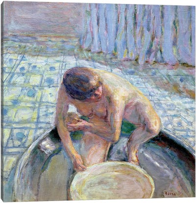 Blue Harmony, 1920 Canvas Art Print