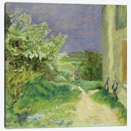 The Maison At Vernouillet, 1909 Canvas Print #PIB156} by Pierre Bonnard Canvas Art Print