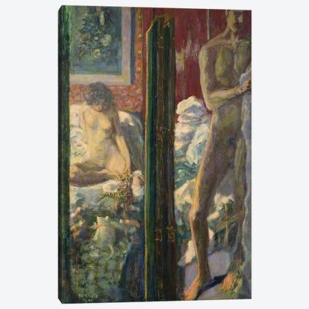 The Man And The Woman, 1900 Canvas Print #PIB157} by Pierre Bonnard Canvas Art Print