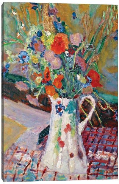 Bouquet Of Wild Flowers, 1922 Canvas Art Print