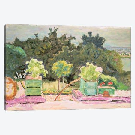 The Terrace At Vernonnet, 1913 Canvas Print #PIB178} by Pierre Bonnard Canvas Art
