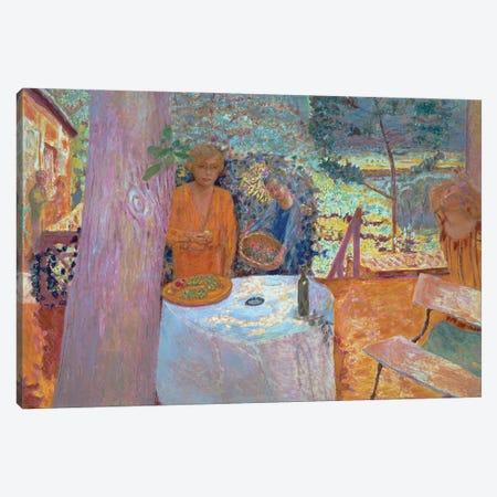 The Terrace At Vernonnet, 1939 Canvas Print #PIB179} by Pierre Bonnard Canvas Art
