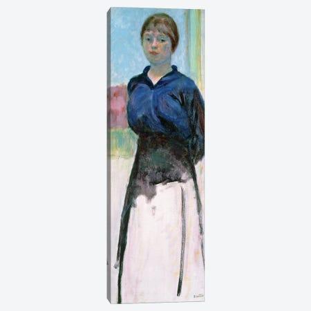 Woman In A Blue Blouse, C.1915 Canvas Print #PIB194} by Pierre Bonnard Art Print