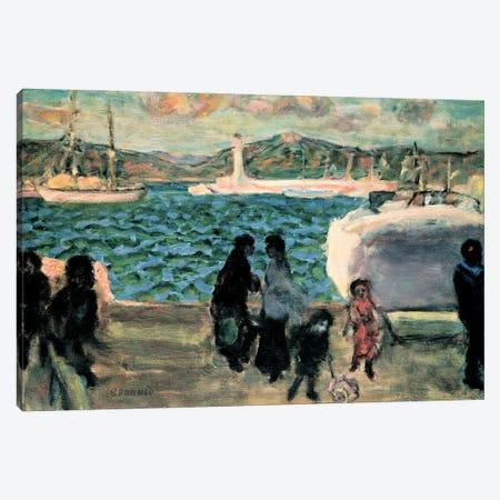 Cannes, 1947 Canvas Print #PIB19} by Pierre Bonnard Canvas Artwork