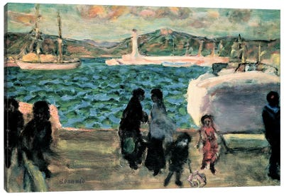 Cannes, 1947 Canvas Art Print