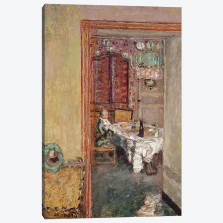 Young Boy In The Dining Room, C.1898 Canvas Print #PIB207} by Pierre Bonnard Canvas Print
