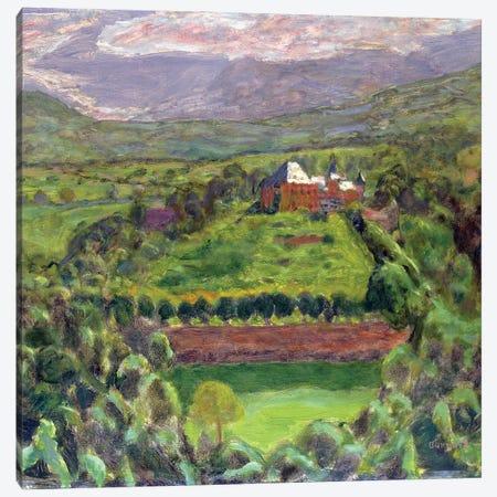 Chateau D'Uriage, 1918 Canvas Print #PIB21} by Pierre Bonnard Art Print