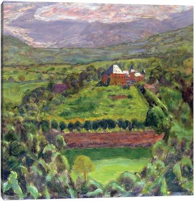 Chateau D'Uriage, 1918 Canvas Art Print